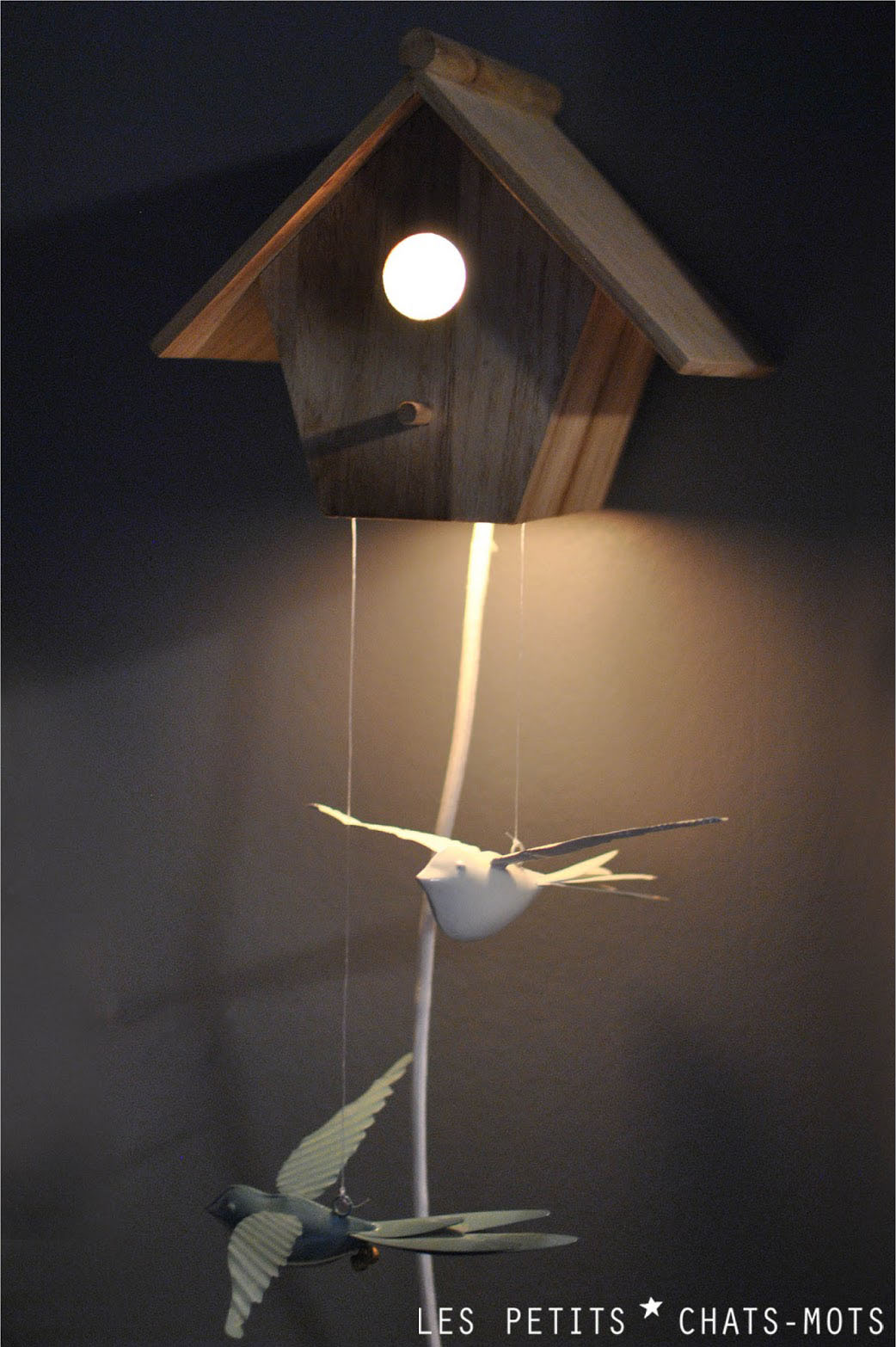 niche a oiseaux pour des r ves plus que beaux lespetitschatsmots. Black Bedroom Furniture Sets. Home Design Ideas