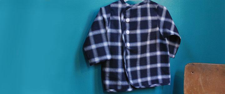LPCM-blouse bleue