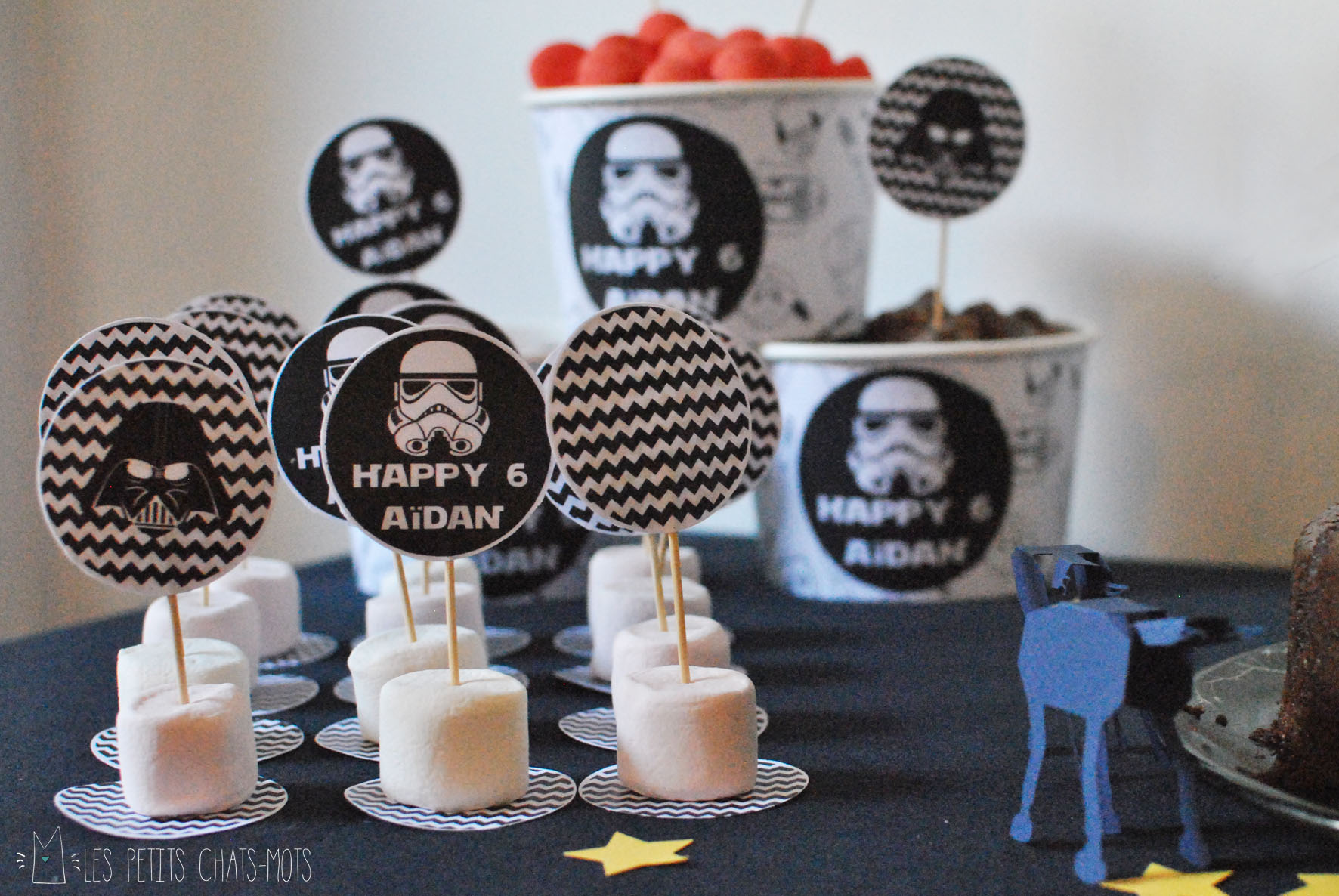 Deco anniversaire star wars fashion designs - Deco star wars anniversaire ...